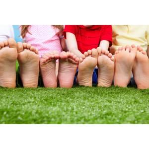 Уход за детскими ножками