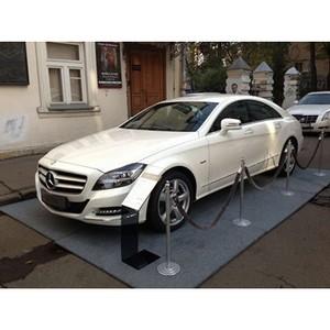 «Война и мир» начинается с Mercedes-Benz CLS.