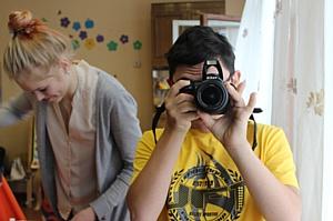 В Екатеринбурге подводят итоги работы первых инклюзивных фотомастерских для школьников
