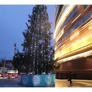 Новогоднее настроение в ТРК «Небо»