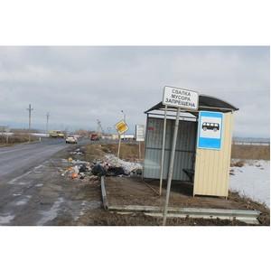 ОНФ призвал власти Воронежской области организовать места для сбора ТКО в селах