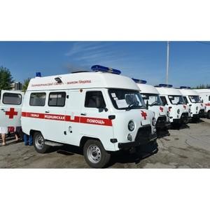 Новые автомобили скорой помощи от Благотворительного фонда «Сафмар»