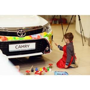 «Toyota Город мечты» в Тойота Центр Пулково и Тойота Центр Пискаревский