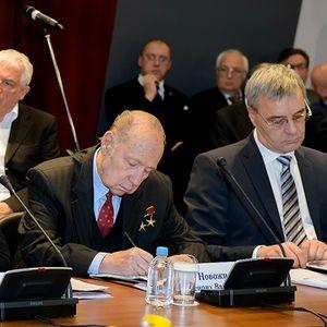 Выступление  Г.В. Новожилова на заседании «Меркурий-клуба»
