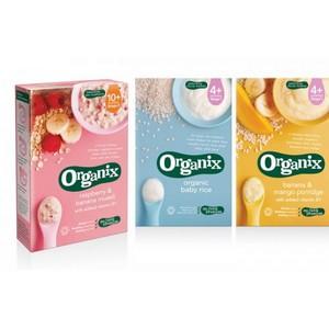На российском рынке появилось настоящее органическое детское питание «Organix»