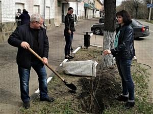 НИЕВ принял участие в акции «Лес Победы»