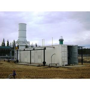 Ввод в эксплуатацию второго инсинератора на ПНГ в Коми