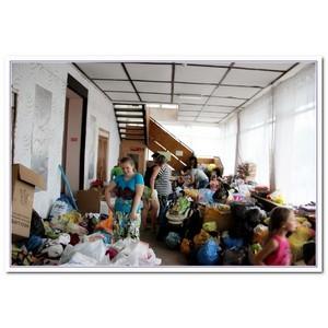 Дон помогает беженцам из Украины всем миром