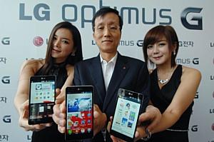 Компания LG выпускает смартфон Optimus G, обладающий особенным функционалом