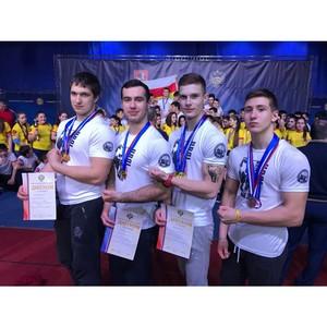 Чемпионат России по армрестлингу среди спортсменов-инвалидов по слуху