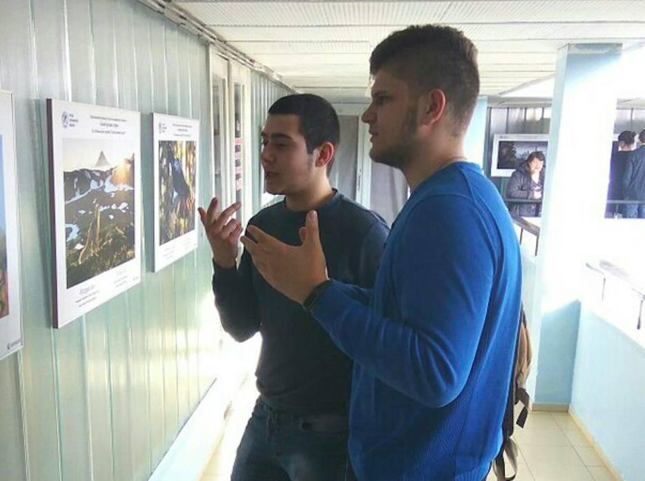 Студенты Дзержинского филиала РАНХиГС посетили фотовыставку «Самая красивая страна»