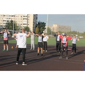 Активисты Народного фронта в Санкт-Петербурге присоединились к акции «ГТО со звездой»