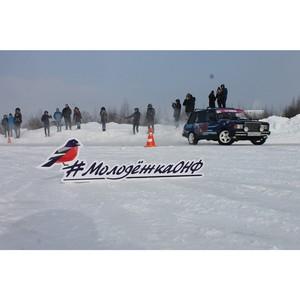 «Молодежка ОНФ» в Коми приняла участие в организации первых в регионе соревнований по зимнему дрифту