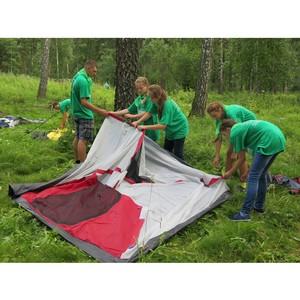 ќЌ' в јлтайском крае участвует в организации международного палаточного лагер¤ юных экологов