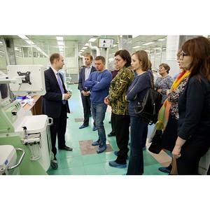 Производство медтехники «Швабе» посетили врачи Екатеринбурга