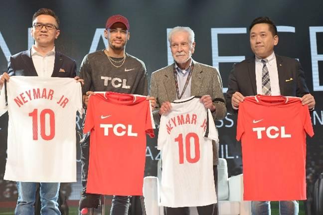 Неймар дал старт международной рекламной кампании TCL 2018 года