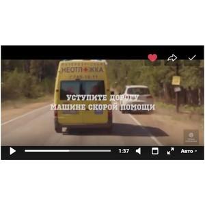 «Петербургская Неотложка» приняла участие в записи видеоролика о первой помощи при ДТП