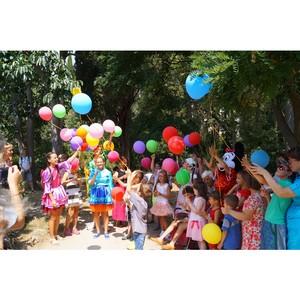 Сотрудники отеля «Ялта-Интурист» поздравили воспитанников реабилитационного центра с днём рождения