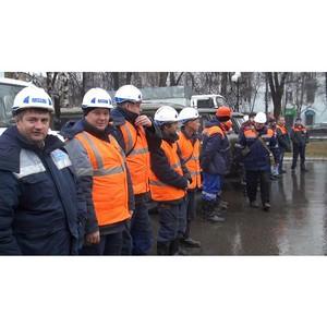 Аварийные бригады Владимирского филиала КЭС Холдинга и ОАО «ВКС» приняли участие в городском смотре