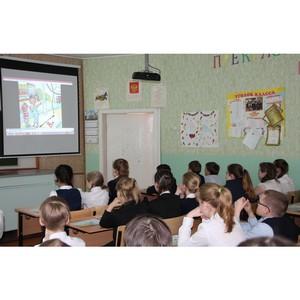 Сотрудники Рязаньэнерго обучают детей основам электробезопасности
