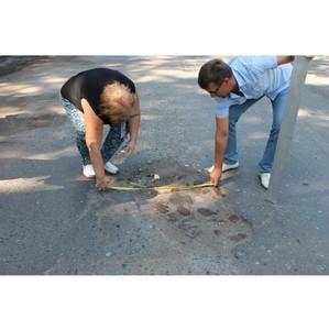 Активисты ОНФ оценили качество дорожного ремонта в городе Омске