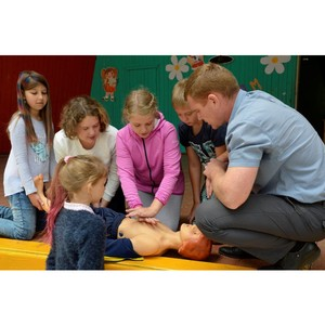 Специалисты Тамбовэнерго провели серию очередных занятий по электробезопасности в детских лагерях