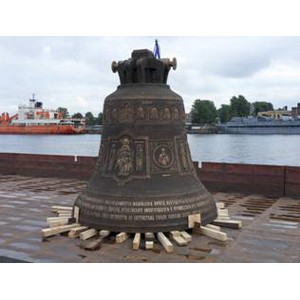 «Совфрахт » доставил в Нижний Новгород третий по величине «звонящий» колокол