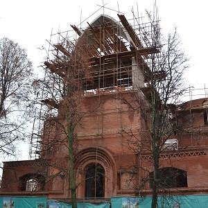При содействии БФ «Сафмар» Михаила Гуцериева возводится Храм преподобного Саввы Сторожевского