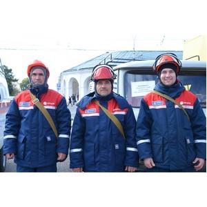 Энергетики МРСК Центра в Костромской области приняли участие в смотре сил и средств