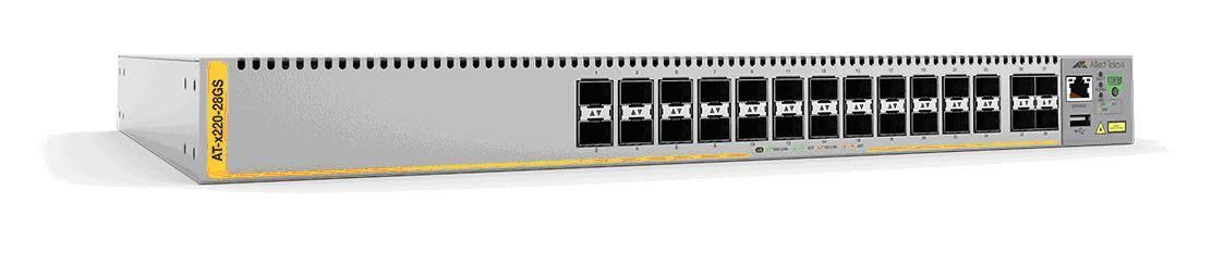 Gigabit L3 коммутатор x220-28GS – идеальный выбор для подключения к оптоволоконным сетям