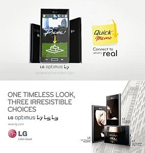 LG анонсирует функцию QuickMemo™ для смартфонов optimus серии L-Style