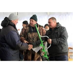 На «Липецкцементе» прошли корпоративные соревнования по подледному лову