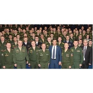 В. Гутенев провел мастер-класс для слушателей Военной академии РВСН им. Петра Великого