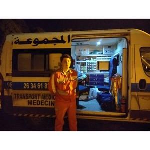 «Петербургская Неотложка» транспортировала пациента из Туниса
