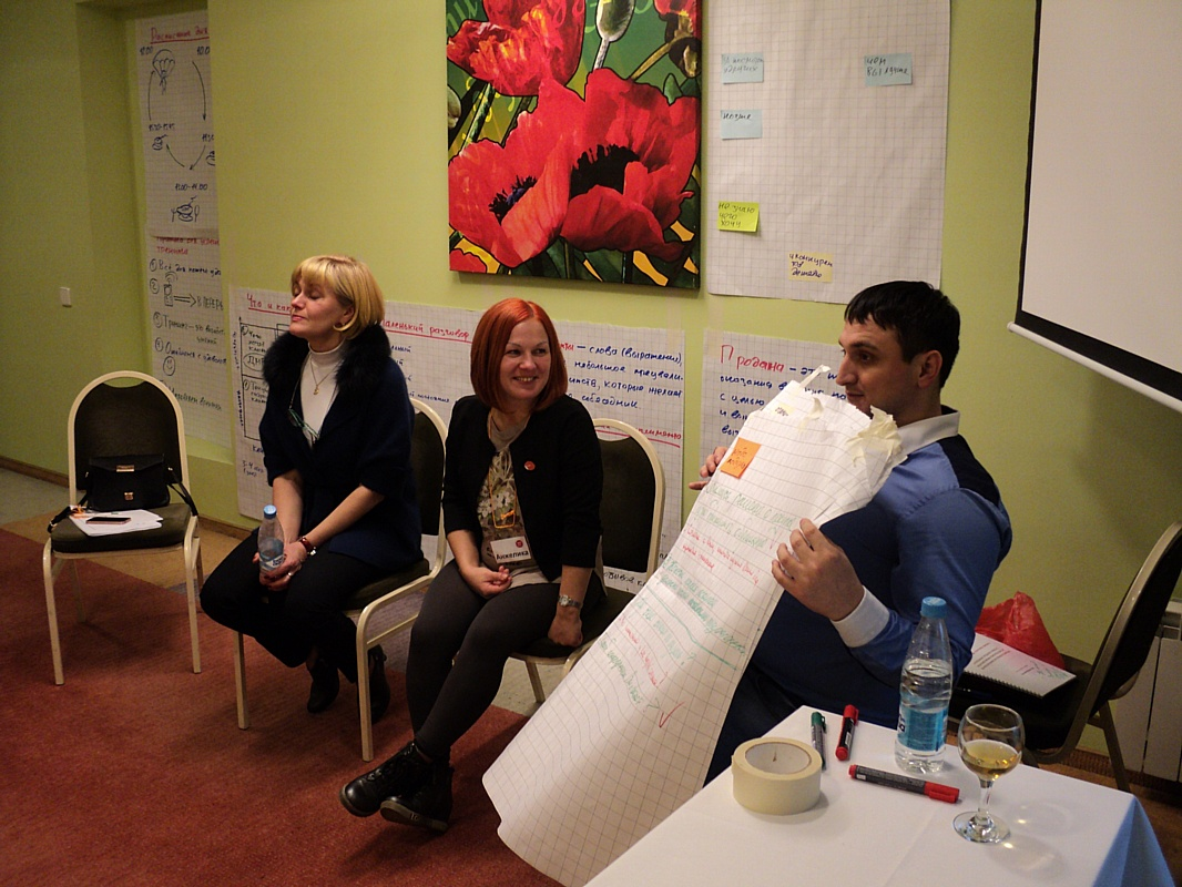 В Санкт-Петербурге состоялся тренинг для специалистов по продажам