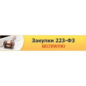 Бесплатное проведение электронных закупок по 223-ФЗ в системе Tender.Pro