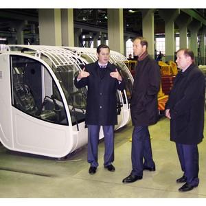 Министр промышленности РФ посетил завод «Автокран»