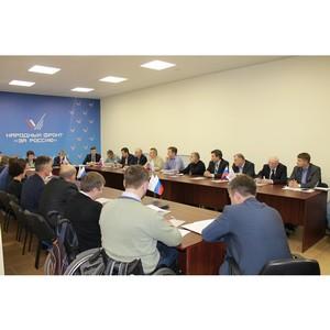 ОНФ в Челябинской области направил главе региона предложения по повышению качества жизни населения