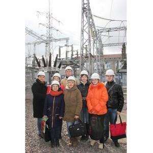 Сотрудники филиала «Рязаньэнерго» провели экскурсию для школьников