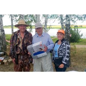 Работники «Липецкцемента» отметили День рыбака совместным уловом