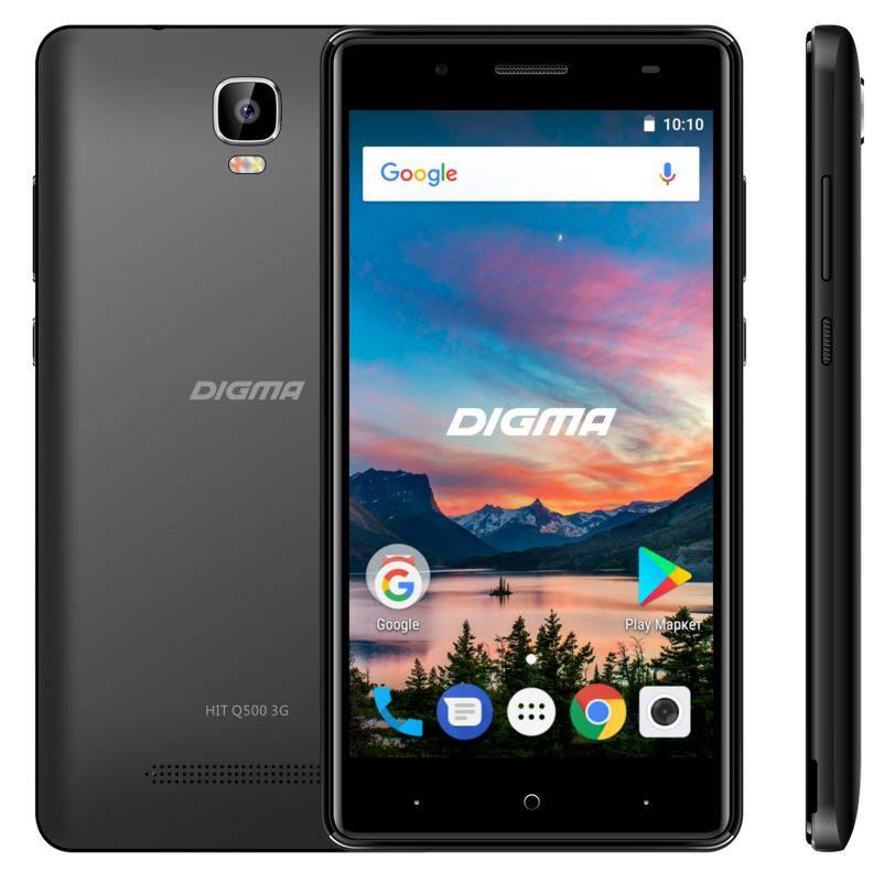 Бюджетная парочка – смартфоны Digma HIT Q401 3G и Q500 3G