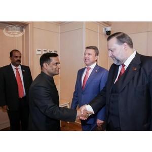 П.С. Дорохин: «Первый визит в Думу спикера парламента Индии – новый этап в развитии наших отношений»