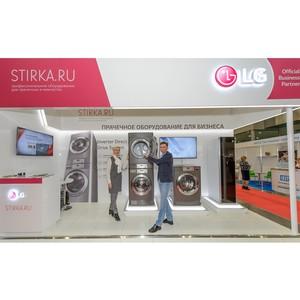 Коммерческое оборудование LG Electronics для сферы обслуживания на CleanExpo 2016