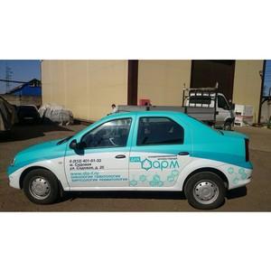 Granat забрендировал автомобили для аптеки «Диа-фарм»