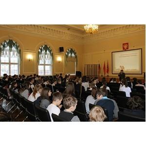 Активисты ОНФ провели «уроки мужества» для школьников Санкт-Петербурга