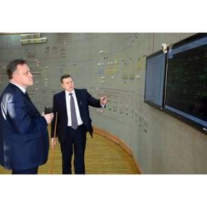 Александр Пилюгин посетил объекты электросетевого комплекса Мариэнерго