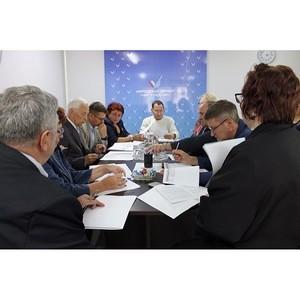 Активисты регионального штаба ОНФ в Амурской области обсудили работу в новом формате