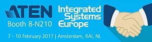 ISE 2017: ATEN укрепляет свои позиции на профессиональных IT и AV рынках Европы и мира