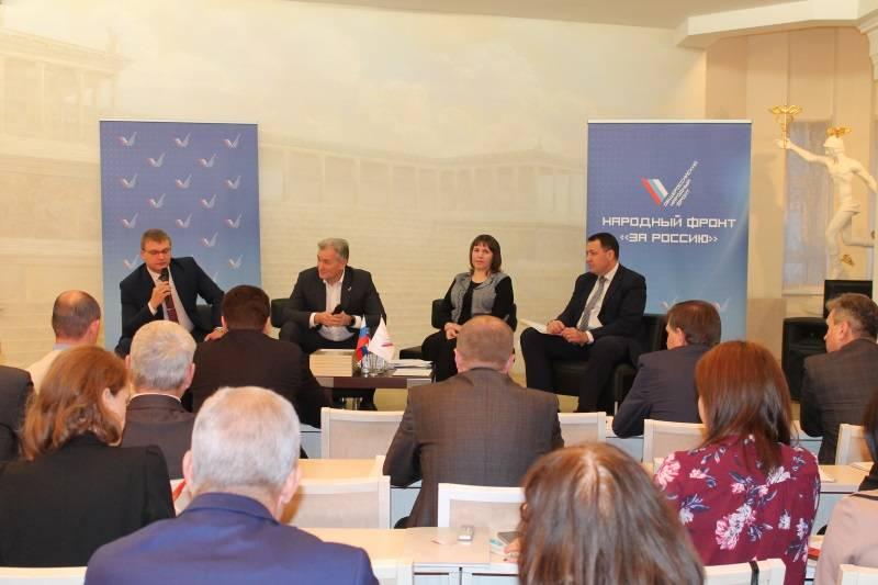 Активисты ОНФ в Мордовии подвели итоги работы за текущий год