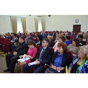 Встреча с советами ветеранов Комсомольска и Комсомольского района